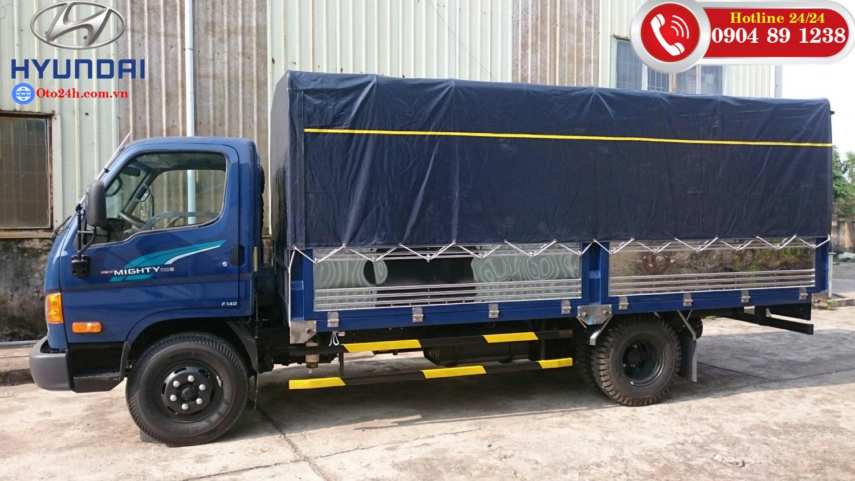 New Mighty 110s 7 tấn thùng bạt