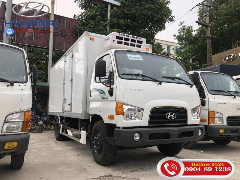 Xe Tải Hyundai Mighty 110SL Thùng Kín