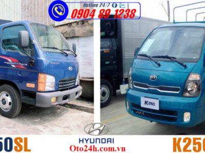 So Sánh Xe Tải Hyundai N250SL Và K250