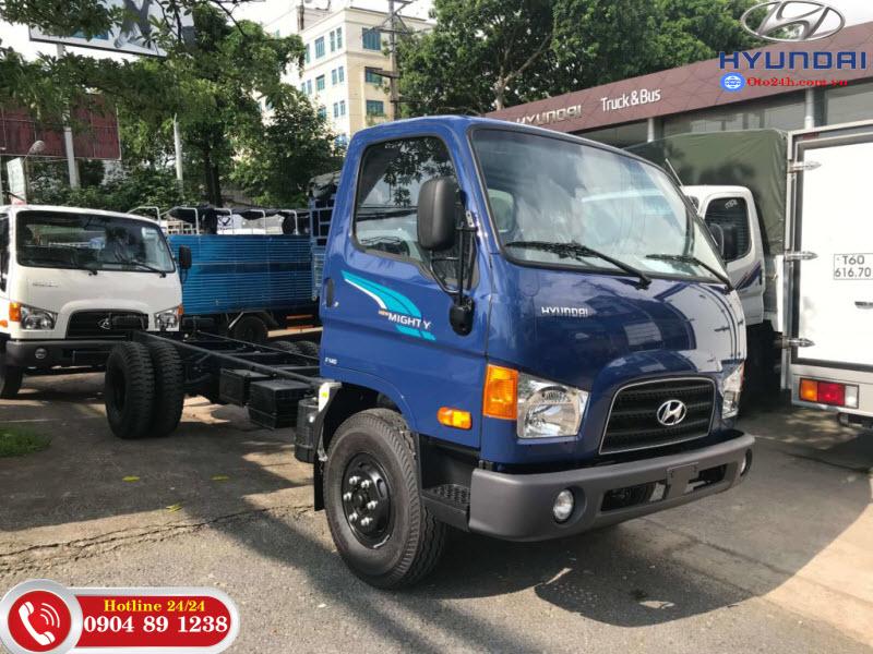Xe Tải Hyundai Mighty 75S Thùng Kín
