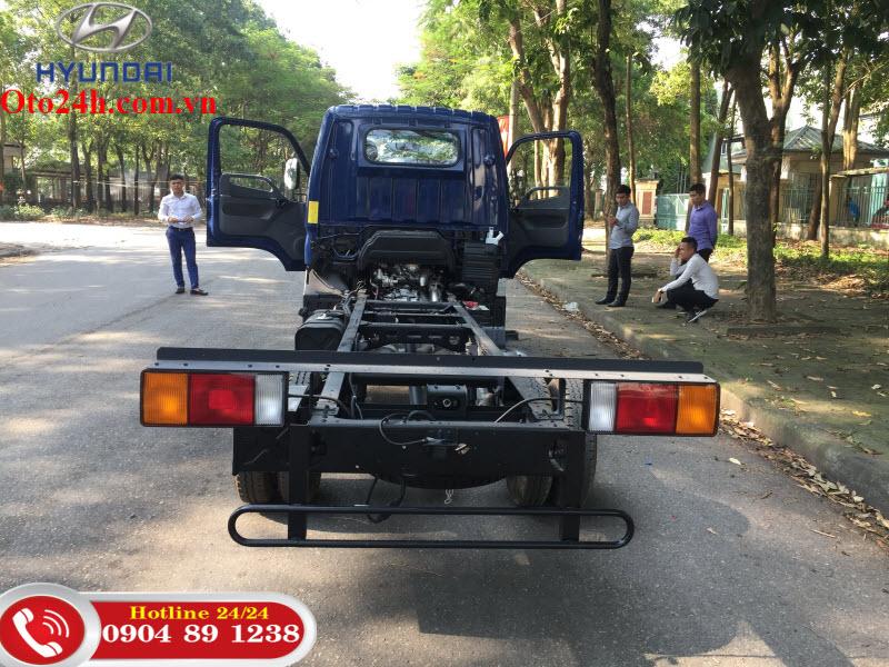 New Mighty N250SL Thùng Dài 4m3 Thành Công