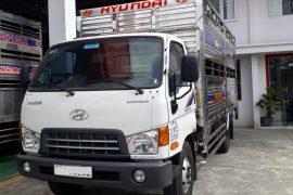 Xe Tải Hyundai Mighty 2017 8 Tấn Chở Gia Súc