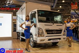 Xe Tải Hyundai Mighty EX6 Thùng Kín