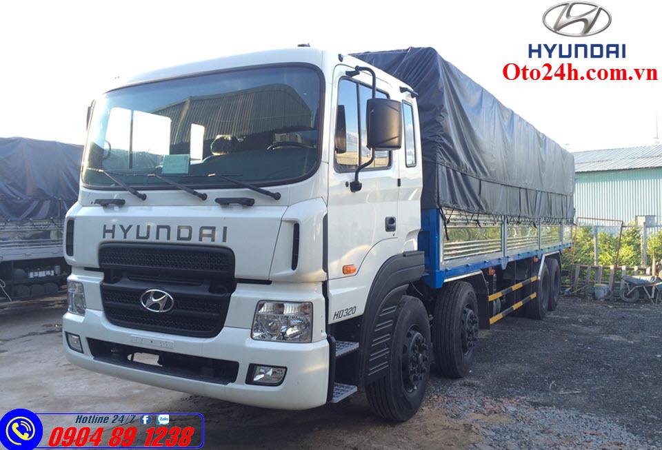 Xe Tải Hyundai HD320 19 Tấn Nhập Khẩu
