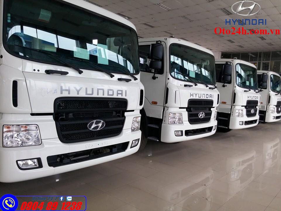 Giá Xe Tải Hyundai HD320 4 Chân 19 Tấn Nhập Khẩu