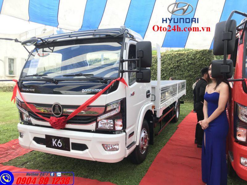 Giá Lăn Bánh Xe Tải 5 Tấn Nissan K6 Đồng Vàng