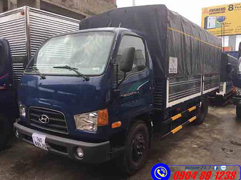 Xe Tải Hyundai Mighty 75S Thùng Bạt