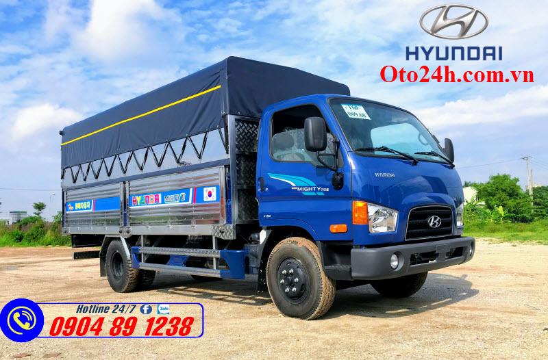 Xe Tải Hyundai Mighty 110XL Thùng Mui Bạt