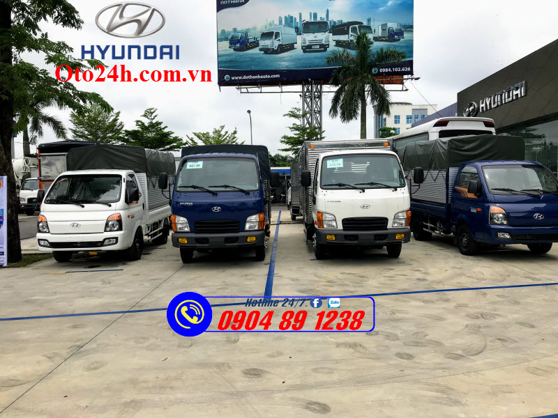 Đại Lý Xe Tải Hyundai N250SL 2.5 Tấn Tại Hòa Bình
