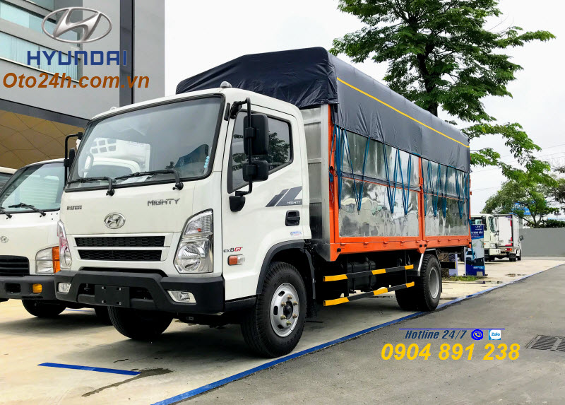 Giá Lăn Bánh Xe Tải Hyundai EX8 GT