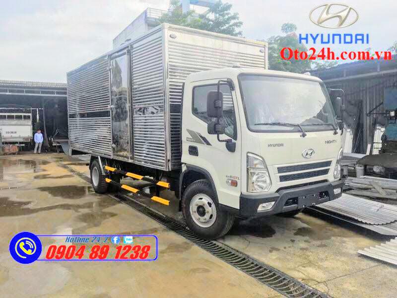 Giá Và Chi Phí Lăn Bánh Xe Tải Hyundai EX8 GTL Thùng Kín