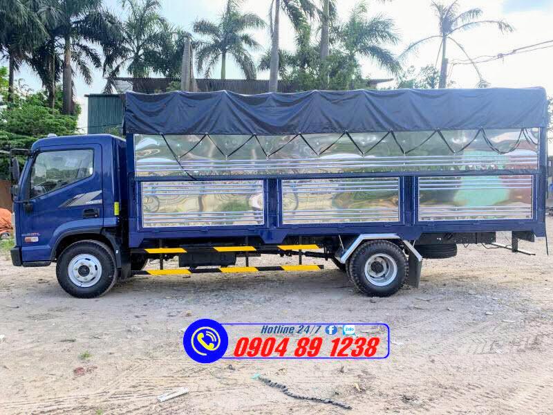 Xe Tải Hyundai Mighty EX8 GTL Thùng Bạt