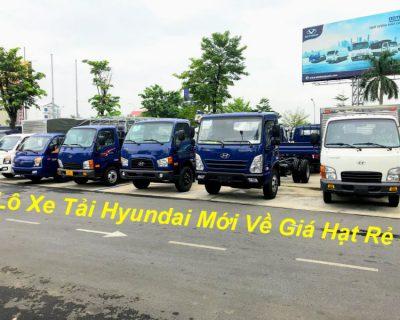 Bảng Giá Xe Tải Hyundai Năm 2020