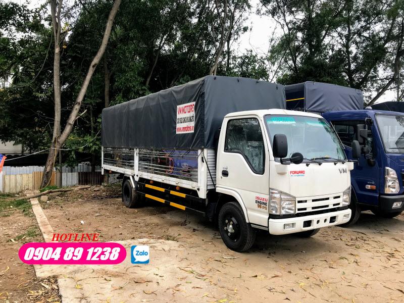 Giá Lăn Bánh Xe Tải 1T9 NK490SL Isuzu Vĩnh Phát