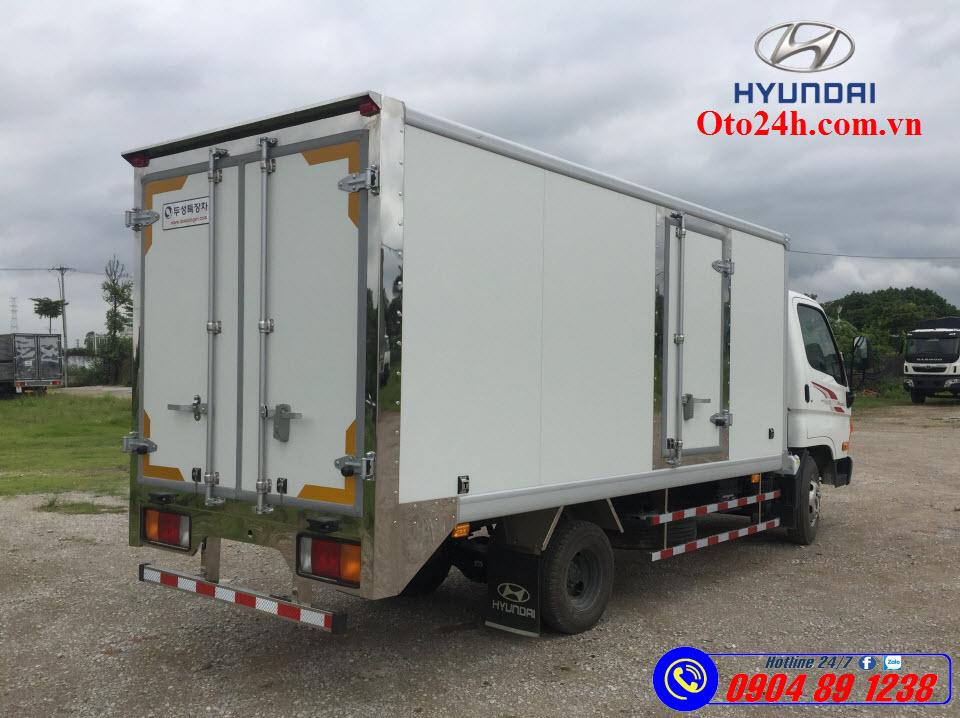 Hyundai N250SL Thùng Đông Lạnh 2.5 Tấn