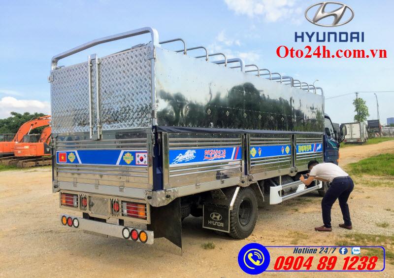 Xe Tải Hyundai Mighty 110XL Thùng Dài 6m2