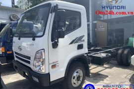 Xe Tải Hyundai Mighty EX8 GT Thùng Bạt Inox
