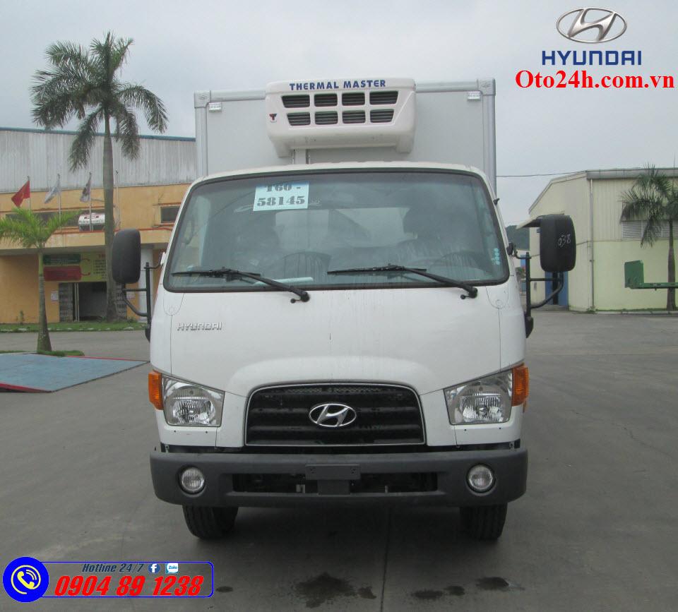 Xe Tải Hyundai Mighty 110SL Đông Lạnh