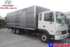 Xe Tải Hyundai HD240 Thùng Kín 3 Chân Co