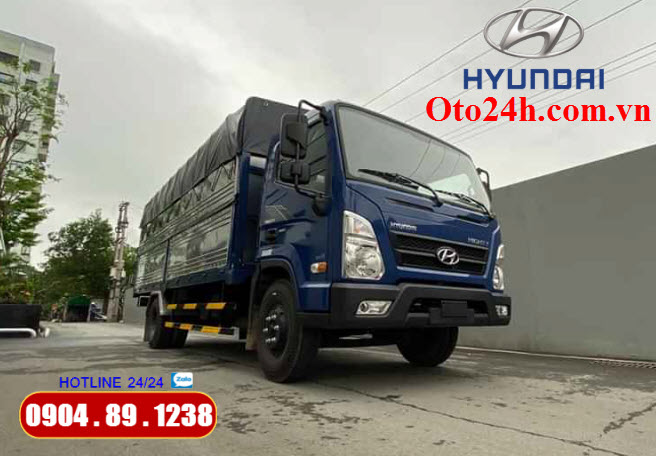 Hyundai Mighty EX8 Thùng Bạt
