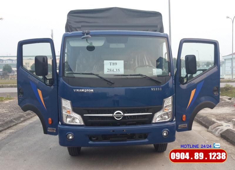 Xe Tải Cabstar NS350 3.5 Tấn Đồng Vàng Tại Hà Nội